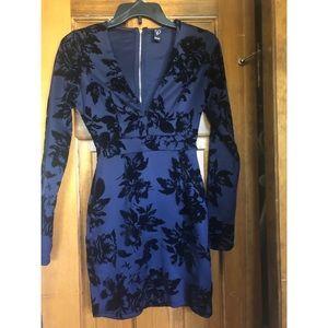 Navy Blue Windsor Dress XS